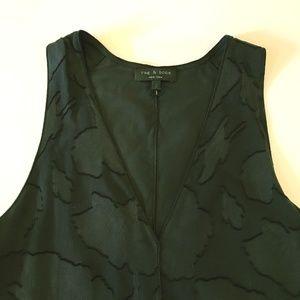 Rag & Bone Silk Dress - Navy Blue - Size 2